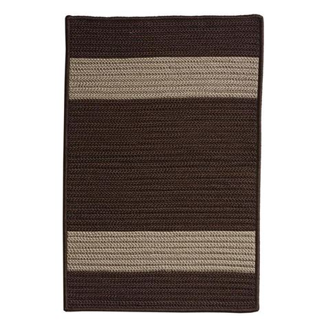 Home Decorators Outdoor Rugs Home Decorators Collection Cafe 6 Ft X 9 Ft Chocolate Indoor Outdoor Braided Area Rug