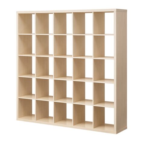 ikea cd gestell kallax shelf unit birch effect ikea