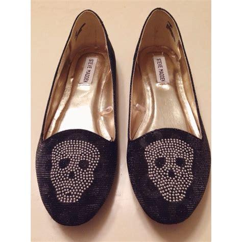 skull flats shoes 72 steve madden shoes steve madden skull flats from
