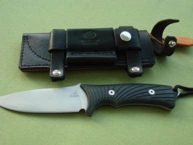 gerber big rock – bayley style sheath | lp's knives and