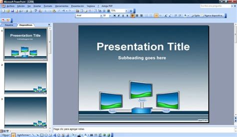 Digital Signage Powerpoint Template Digital Signage Templates