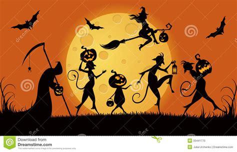 imagenes monstruos halloween monstruos del partido para halloween foto de archivo