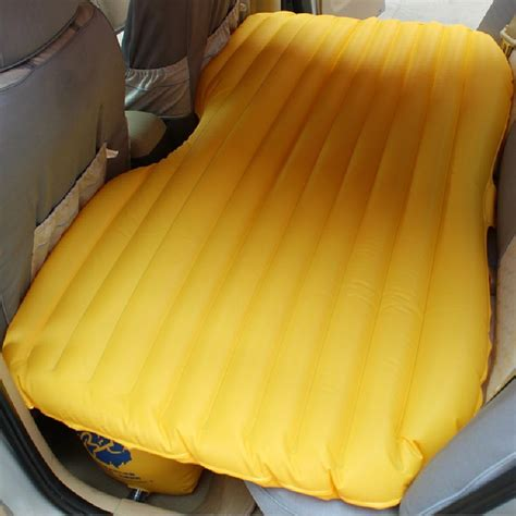backseat inflatable bed sleep comfortably in your car s backseat with this specially designed inflatable mattress