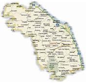 Cartina Geografica Delle Marche  Stradario Mappa