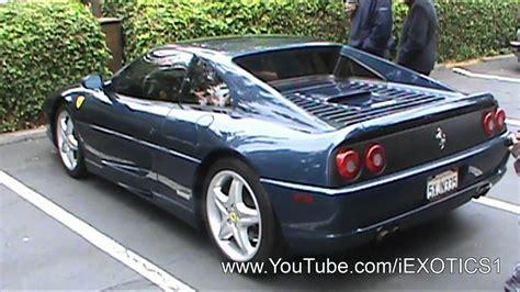 Ferrari Berlinetta Blue by Tdf Blue Ferrari F355 Berlinetta Youtube