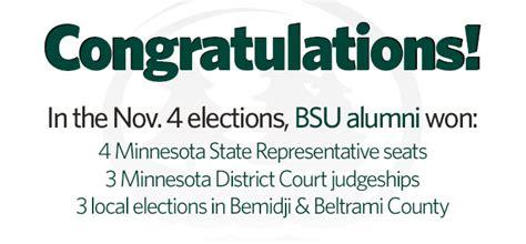 Beltrami County Court Calendar Congratulations To Bemidji State Alumni Who Won Elections