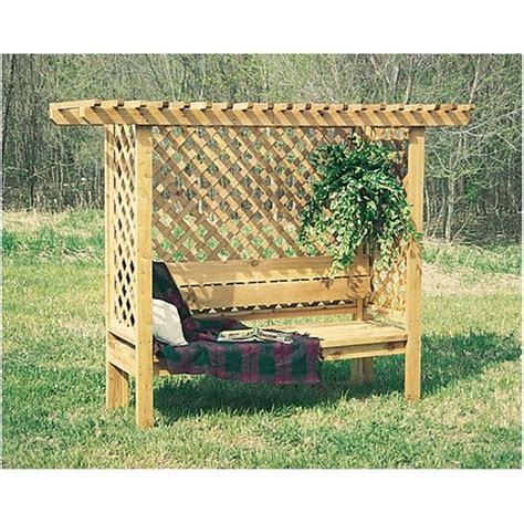 bench and patio world h3679 lattice bench plans patio pinterest products