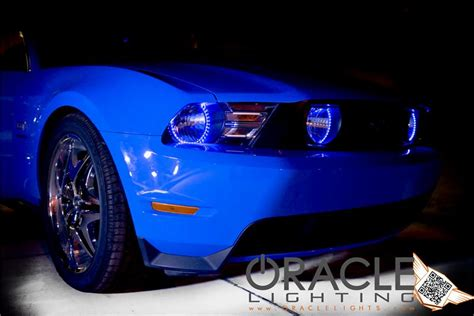 halo lights for mustang 2010 2012 mustang oracle led headlight halo kit 2302