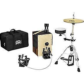 cajon with cymbals cajon drum set with cymbals and hardware wwbw