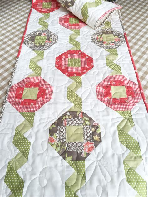 One Fabric Quilt Pattern by Carried Away Quilting Ribbon Play Pattern Meet Fig Tree