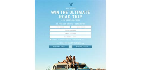 Aerie Sweepstakes - 2015 aeo aerie spring try on event promotion over 600 000 in prizes