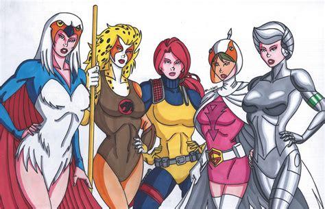 cartoon heroines by robertmacquarrie1 on deviantart