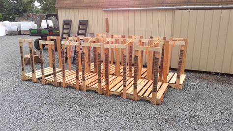 How To Make A Firewood Rack by Firewood Racks