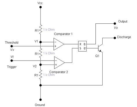 555 timer modeling wiring diagram