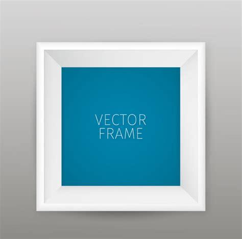 Frame Foto Home Warna Putih Dengan 3 Op Frame bingkai foto putih vector latar belakang vektor gratis