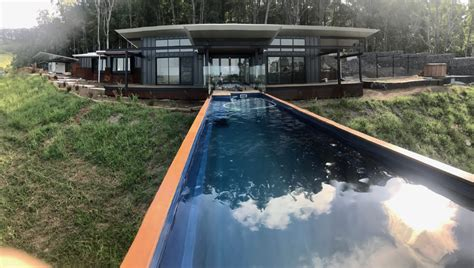 elbar pool houses from shipping tips to choose build and install a shipping container pool