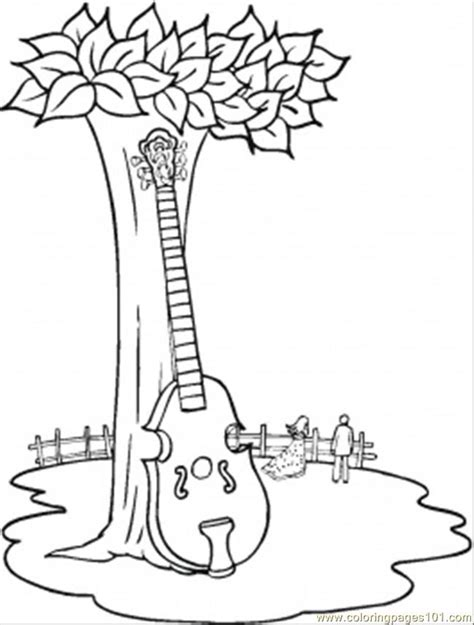 coloring pictures of orchestra instruments coloring pages