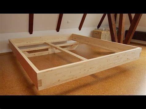 futon selber bauen diy massivholz bett selber bauen inspiration bett