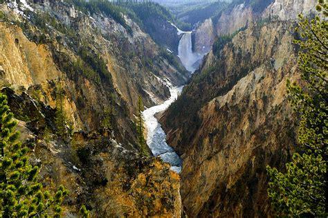 yellowstone landscape free stock photo of scenic river landscape at yellowstone