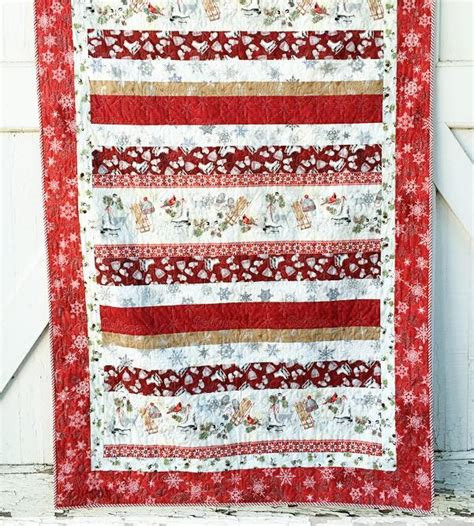 Everyday Celebrations Simple Patchwork Pillows Free Pattern - winter celebration quilt pattern favequilts
