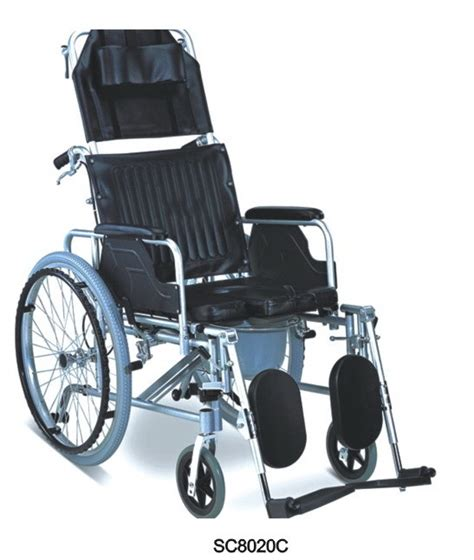 Reclining Commode Wheelchair by Reclining Wheelchair Sc8020c China Wheelchair