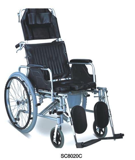 reclining commode wheelchair full reclining wheelchair sc8020c china wheelchair