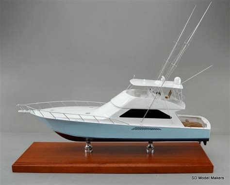 sport fishing boat scale model 137 best images about power boat models on pinterest