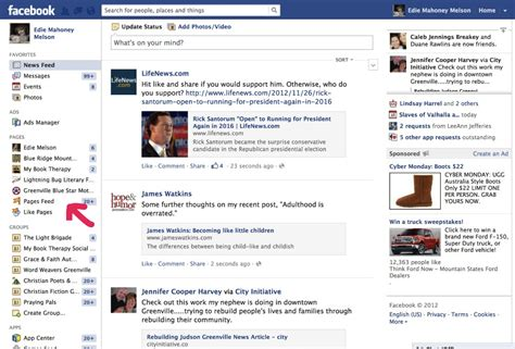 Facebook Reporter Nuovo News Feed Template