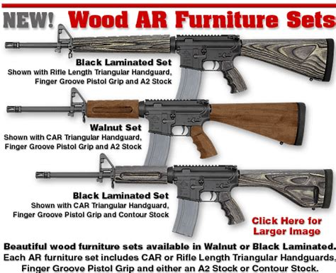 Ar 10 Wood Furniture by Wooden M16 S Ar15