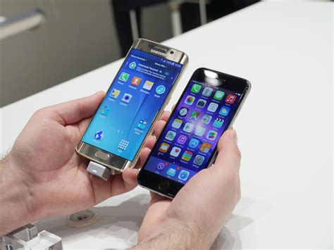 samsung galaxy  edge  iphone   real life speed comparison