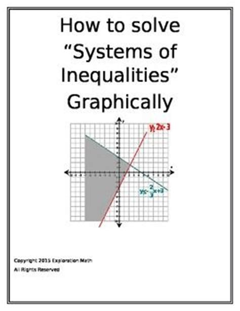 Graphing Systems Of Inequalities Worksheet by Algebra 2 Worksheet 3 3 Solving Systems Of Inequalities By