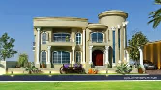 beautiful villa design 3d elevation 3d front elevation