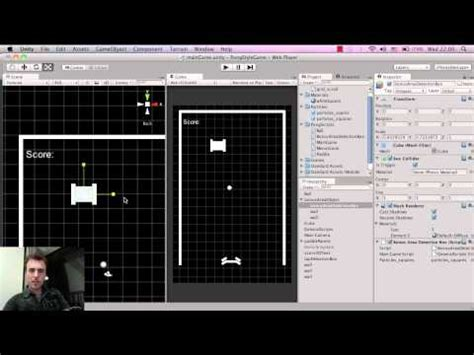 tutorial unity pong unity tutorial beginner pong game how to make mobile