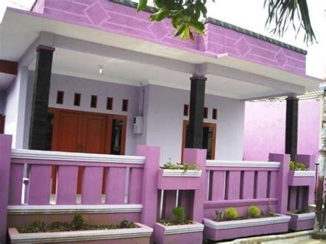 desain depan rumah unik kombinasi warna cat rumah minimalis terbaik denah desain