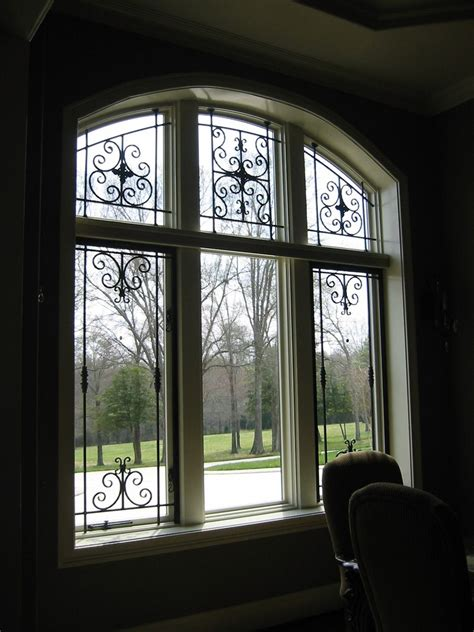 iron window custom made sullivan wrought iron window treatment by the
