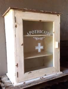 Antique White Bathroom Vanity - apothecaire cabinet 171 jennifer price studio