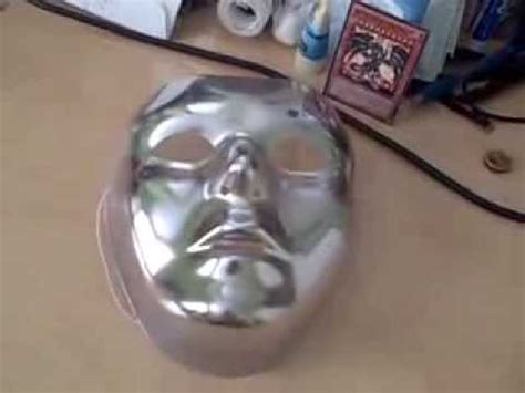 V In The Silver Mask basic silver mask review