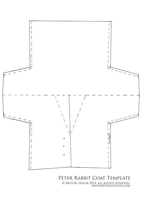 coat template rabbit coat template in literature