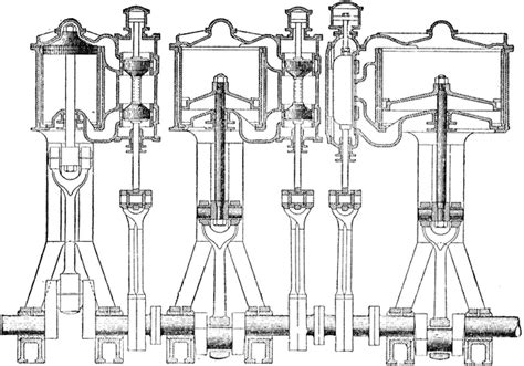 expansion steam engine diagram piston of a expansion steam engine clipart etc