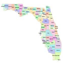 map of florida by county florida map gif images