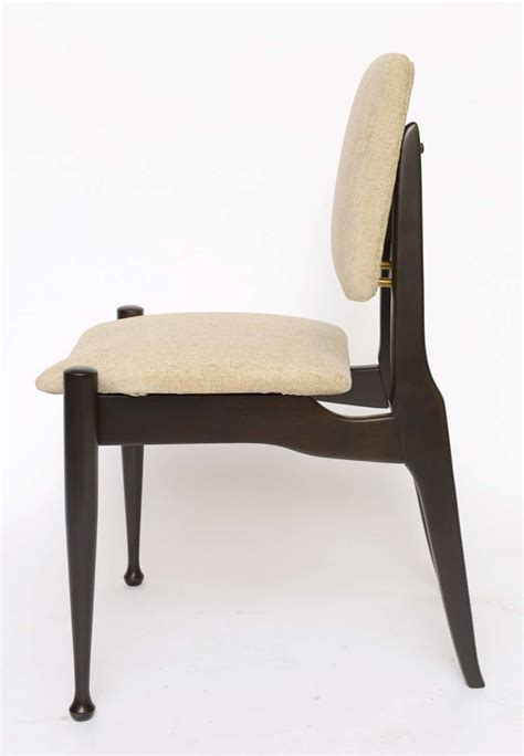 50s dining chairs 50s dining chairs four greta grossman style ebonized 50s