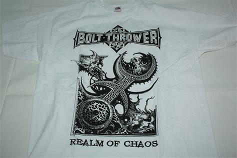 Lp Kaos T Shirt With Out God bolt thrower realm of chaos t shirt l