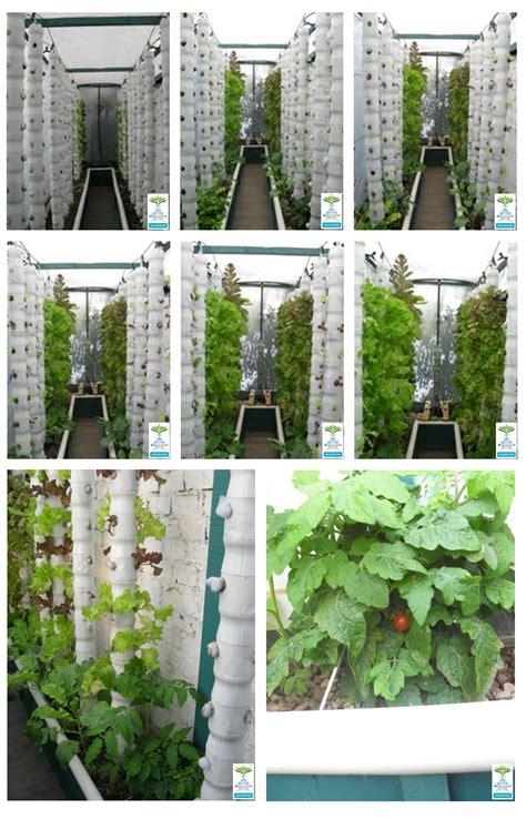 Vertical Garden Systems Vertical Aquaponics Design Hydroponic Technique Plans