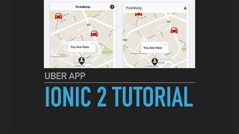 ionic tutorial menu ionic 2 tutorial uber app intro