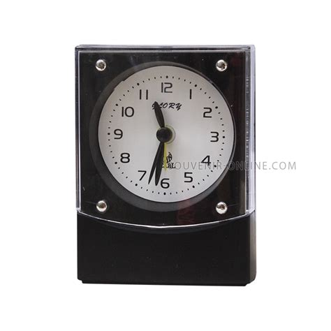Bj Hitam Houstuk Bj Bj Hitam Alarm Clock Black Plastic Series Bj