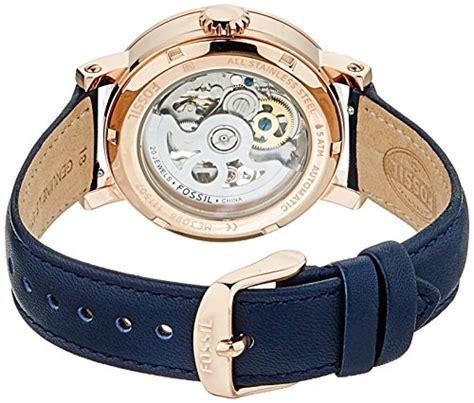 Es4113 Fossil Boyfriend Navy s watches fossil s me3086 original boyfriend automatic leather blue was