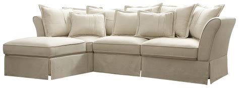 cottage sectional sofa cottage style karlee sofa lounger sectional furniture