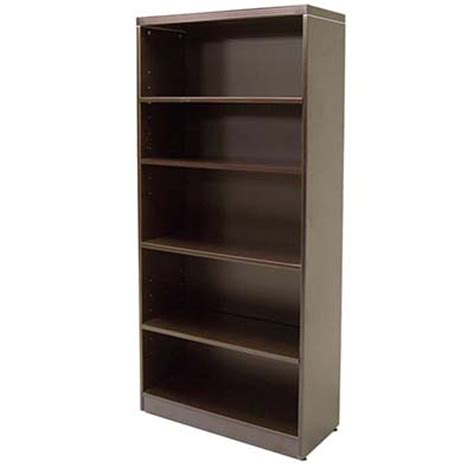 espresso bookcase ofco office furniture