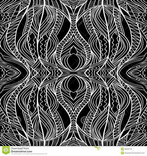 tribal line pattern black and white tribal pattern stock vector image 43520116