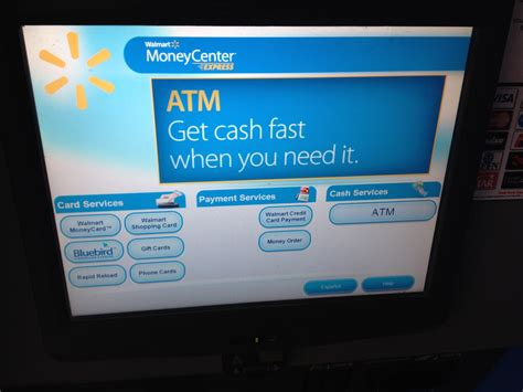 Can You Use Visa Gift Cards At Atm - how to use the walmart money pass kiosk to load gift cards onto your bluebird for no fee